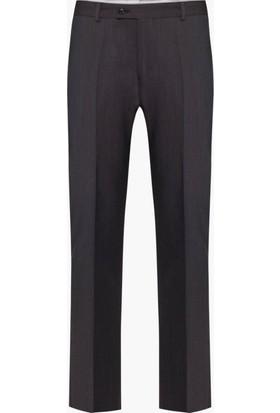 Hateko Klasik Kesim Kahvegri Altınyıldız Kırışmayan Yün Kumaş Pantolon