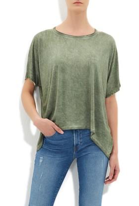 Mavi Yeşil T-Shirt