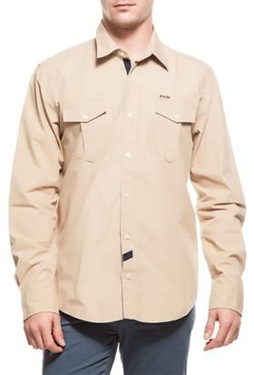 2AS Lamas Shirt Erkek Camel Gömlek 2Ass14004001544