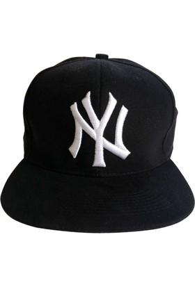 Kazandıran Outlet Erkek Ny Siyah Şapka Kep Erkek