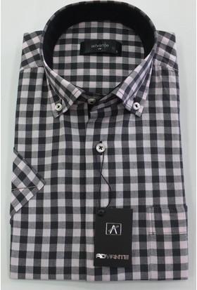 Advante Klasik Kalıp Yıkamalı Erkek Spor Gömlek
