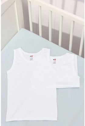 Dagi Erkek Çocuk 2'li Atlet Beyaz K017Y0070