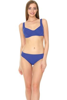 Dagi Kadın Balenli Bikini Takımı Saks B0117Y1330