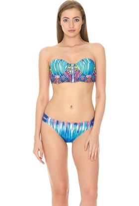 Dagi Kadın Bikini Takımı Saks B0117Y2910