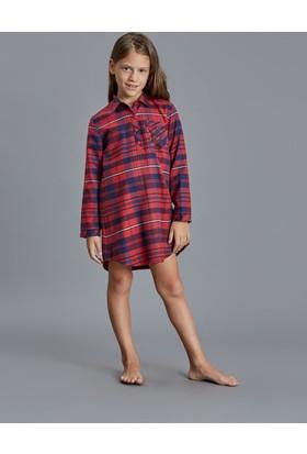 Dagi Kız Çocuk Gecelik Kırmızı K0216K0070
