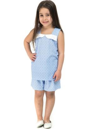 Dagi Kız Çocuk Gecelik Mavi C0215Y0042