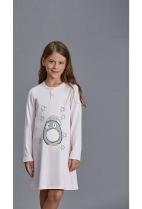 Dagi Kız Çocuk Gecelik Pembe K0216K0140