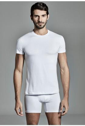 Dagi Erkek Gümüş Alaşımlı Atlet Beyaz E011000860