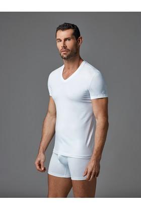 Dagi Erkek Gümüş Alaşımlı Atlet Beyaz E011000870