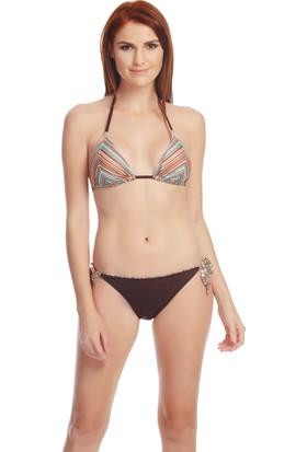 Dagi Kadın Kaplı Bikini Takımı Kahverengi B0116Y0490
