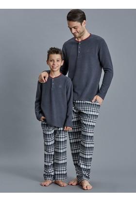 Dagi Erkek Çocuk Pijama Takımı Antrasit C0216K0040