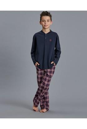 Dagi Erkek Çocuk Pijama Takımı Lacivert C0216K0020