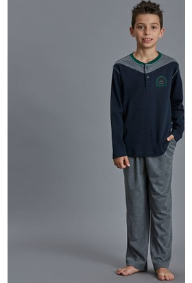 Dagi Erkek Çocuk Pijama Takımı Lacivert C0216K0170