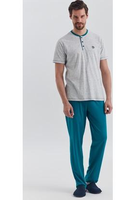 Dagi Erkek Pijama Takımı Gri E0217Y0440