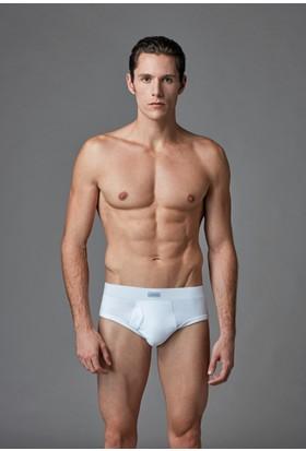 Eros Erkek Slip Beyaz ES011551