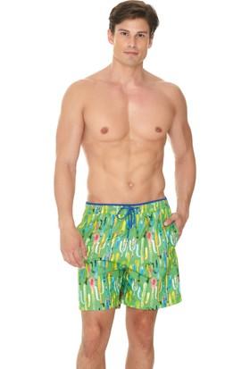 Dagi Erkek Şort Yeşil E0617Y0040