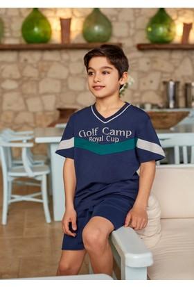 Dagi Erkek Çocuk Şort Takımı Lacivert C0216Y0080
