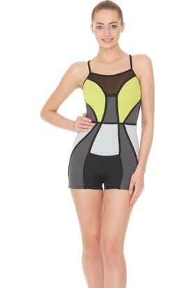 Dagi Kadın Yüzücü Mayo Antrasit B0117Y0290