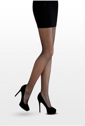 Daymod Siyah Mycro Rete Külotlu Çorap