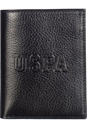 U.S. Polo Assn. Erkek Cüzdan PLCZ7675 Siyah