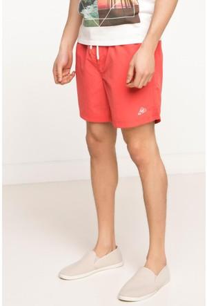 DeFacto Erkek Basic Yüzme Şortu Kırmızı