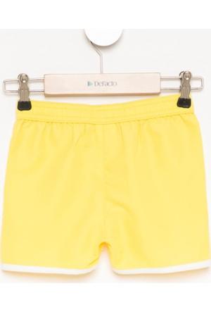 DeFacto Kız Çocuk Basic Yüzme Şortu Sarı