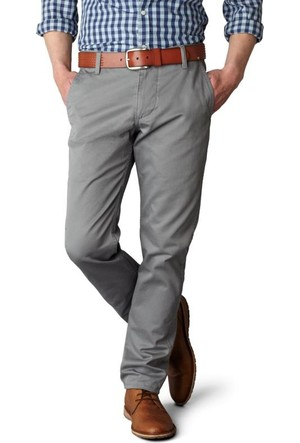 Dockers Erkek Pantolon Alpha Khaki, Slım Tapered 44715-0006