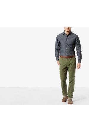 Dockers® Alpha Khakı Erkek Pantolon Marına Khakı, Slım 47403-00