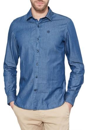 Timberland Mavi Erkek Gömlek 0YGFAJ02