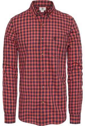 Timberland Desenli Erkek Gömlek A1JJPE12