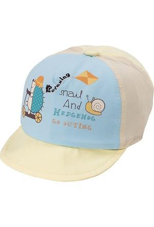 Bay Şapkacı Erkek Çoçuk Kayak Nakışlı Kep Şapka