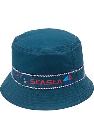 Bay Şapkacı Erkek Çoçuk Nakışlı Bermuda Şapka