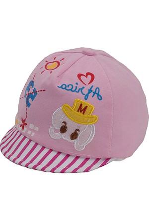 Bay Şapkacı Unisex Bebek 53 Baskılı Kep Şapka