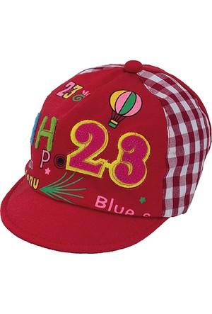 Bay Şapkacı Unisex Bebek Aplikeli Kep Şapka