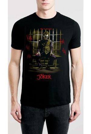 Tshirthane Joker Siyah T-Shirt
