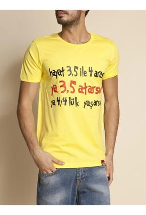 Tshirthane Hayat 3,5 Ekru T-Shirt