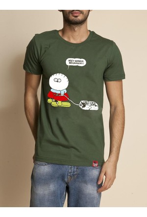 Tshirthane Fırat Füme T-Shirt
