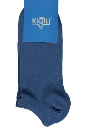 Kiğılı 2'li Spor Kısa Çorap Açık Mavi 125487