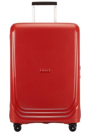 Samsonite Optic 69 cm Orta Boy Sert Valiz Kırmızı