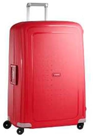 Samsonite SCure 81 cm Büyük Boy Valiz Kırmızı