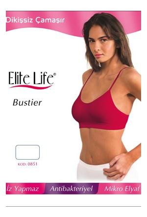 Elite Life 851 Kadın Büstiyer İnce Askılı