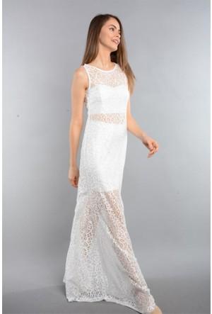 Espenica Dantel Straplez Etek Üçlü Takım Elbise Abiye Balo Mezuniyet Nikah Nişan Düğün Gece Elbise 3542