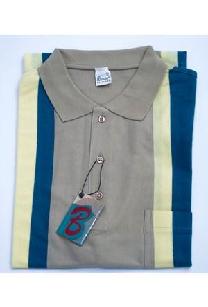 Bensu Pamuklu Cepli Polo Yaka T-Shirt 615