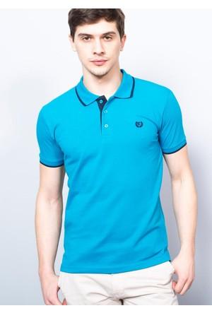 Adze Erkek Petrol Polo Yaka Pike T-Shirt