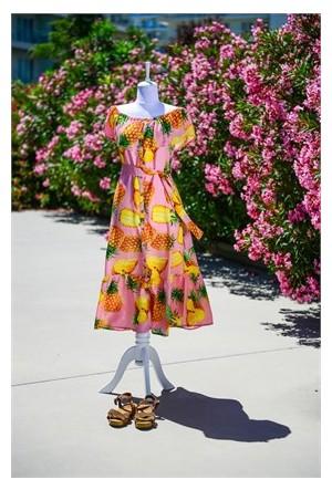 Familylook Pineapple Woman Dress