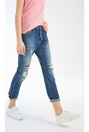 Ltb Kadın Pantolon Aline Simple Damaged Wash