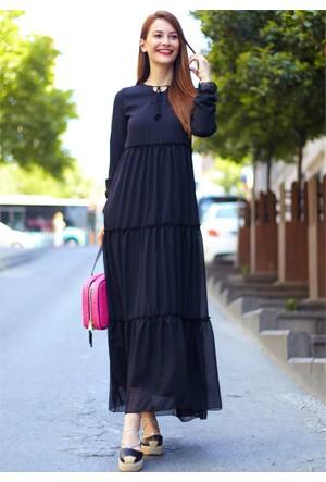 Femme Şifon Elbise