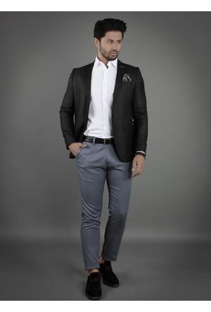 Brango 30023-3 Milat Kumaş Siyah Spor Ceket