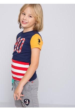 U.S. Polo Assn. Erkek Çocuk Andy T-Shirt Lacivert