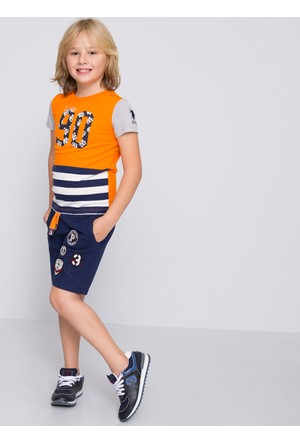 U.S. Polo Assn. Erkek Çocuk Andy T-Shirt Turuncu